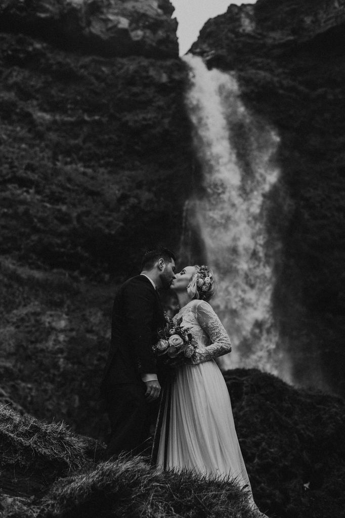 Elopement In Southern Iceland, A Love Story