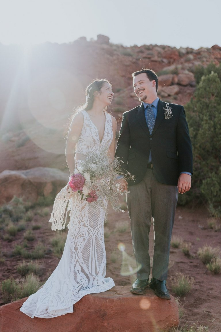 Moab, Utah Elopement photography.