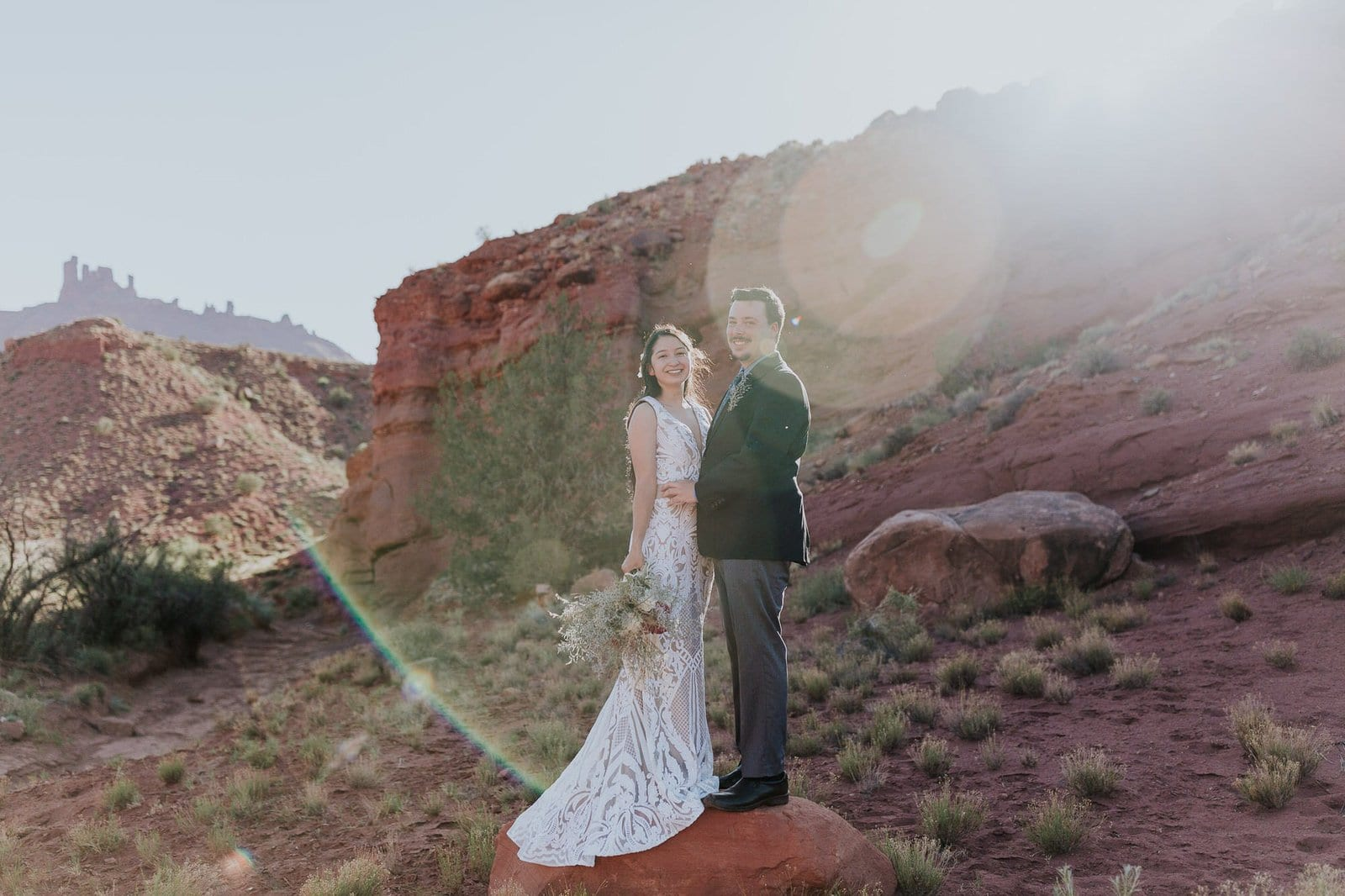 Couple portraits at Moab Utah.