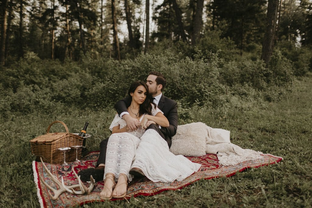 Bride and groom photography at Schmidt Cattle Co.