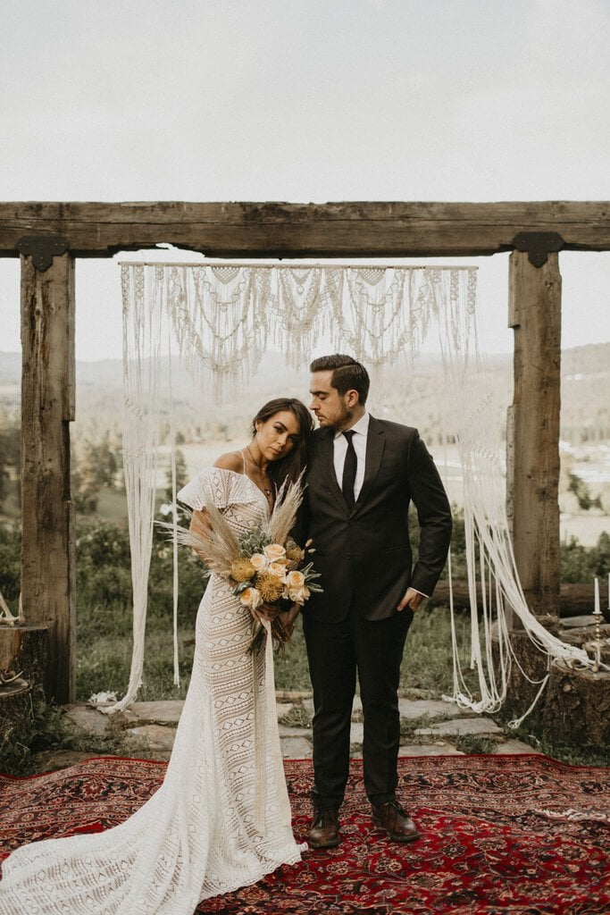 Rustic Elopement Inspiration at Schmidt Cattle Co.