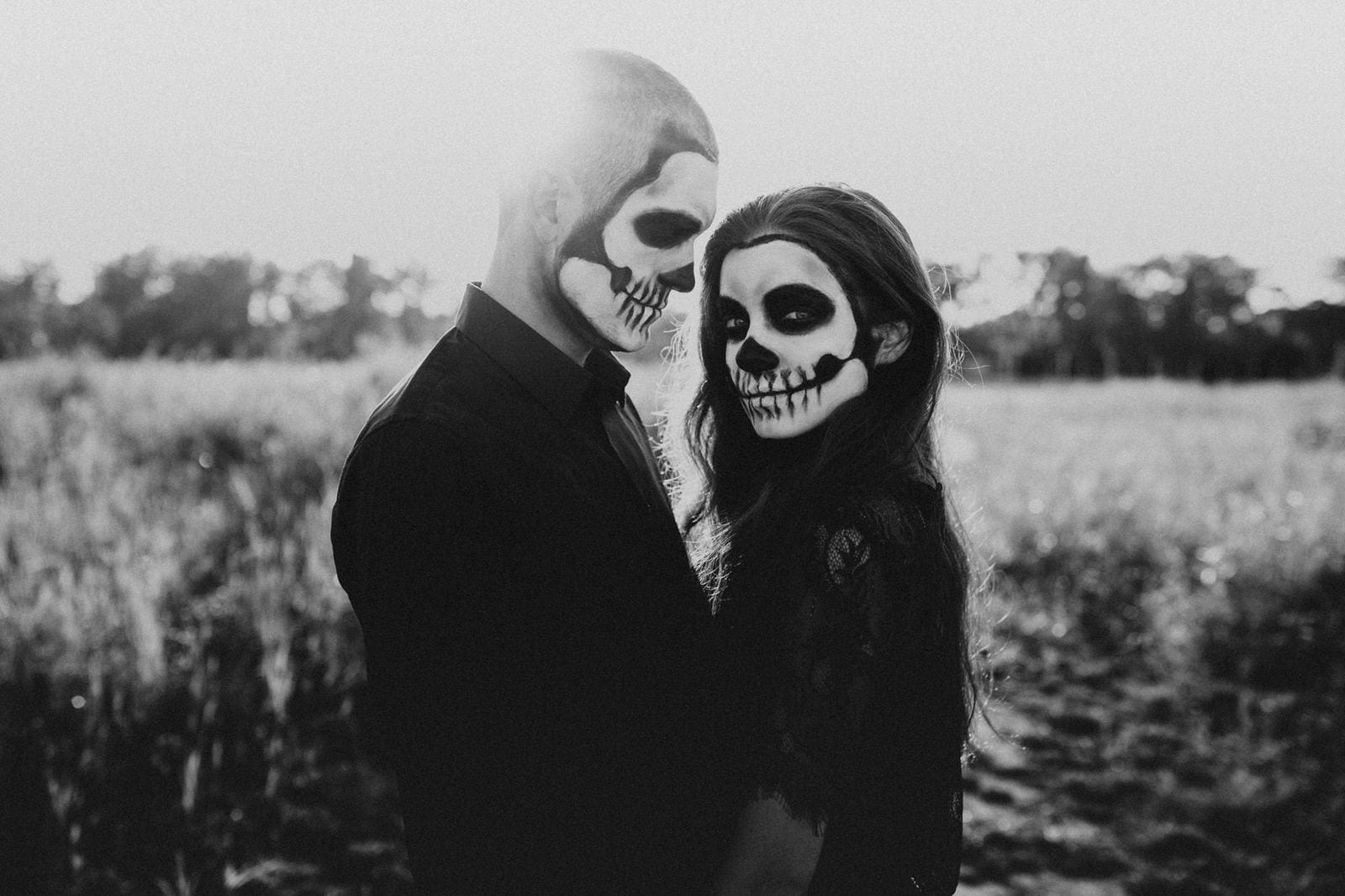 Halloween session photography.