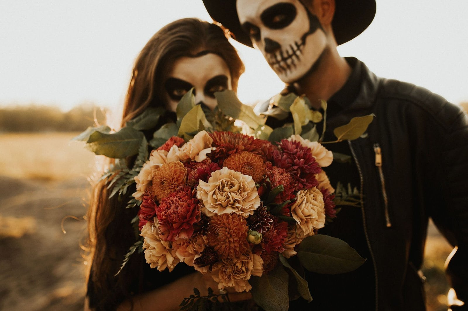 Bridal bouquet for Halloween.