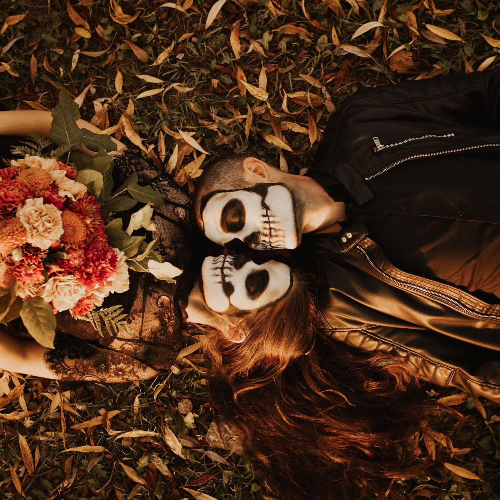 Halloween couple session.