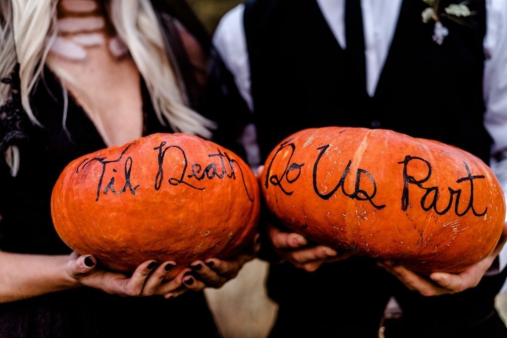 Till death do us part wedding inspiration.