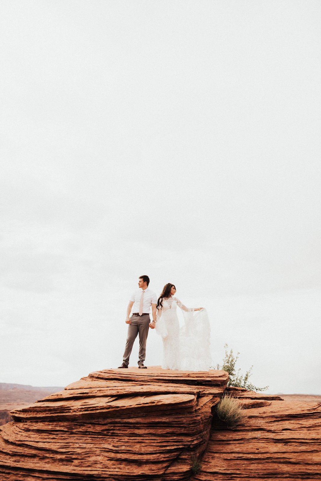 Horseshoe Bend elopement photography.