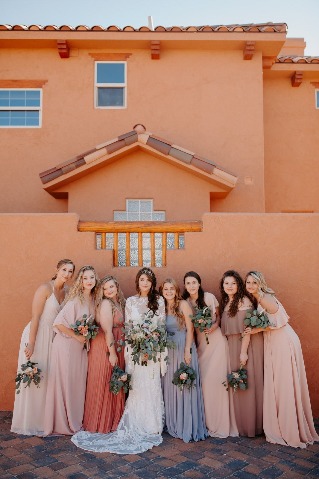 bridesmaid photography for intimate elopement.