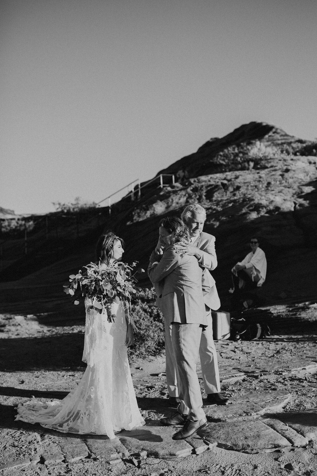 Ceremony photography in Arizona.