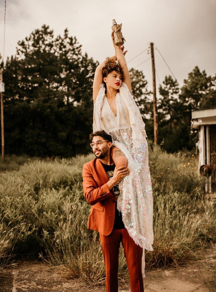 boho elopement photography