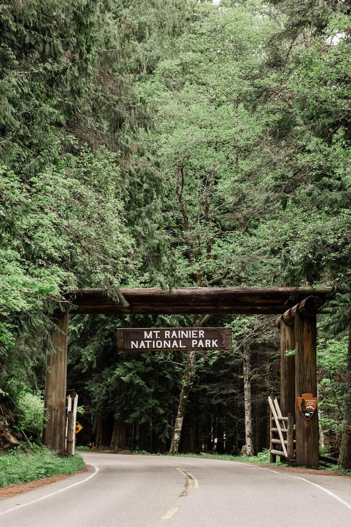 Mount Rainier National park photography.