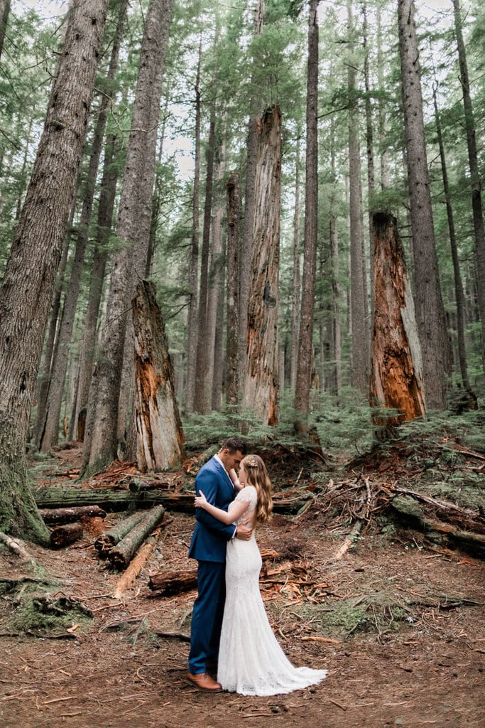 Intimate Wedding at Mount Rainier National Park
