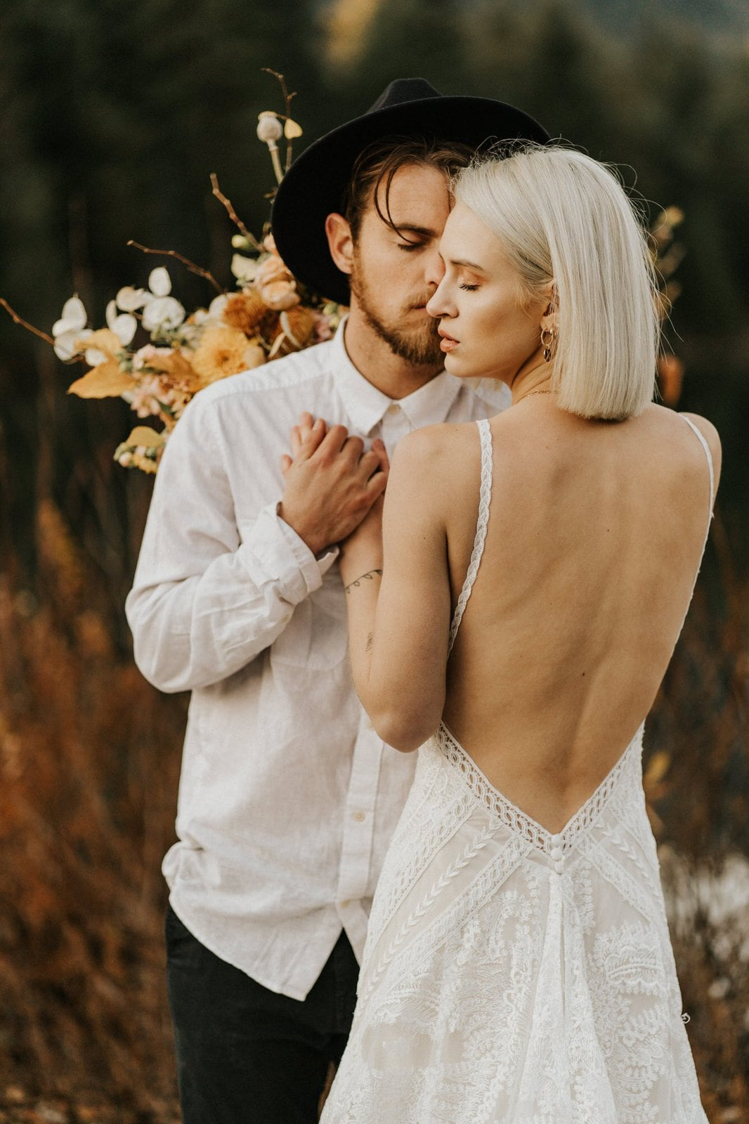 styled elopement inspiration.