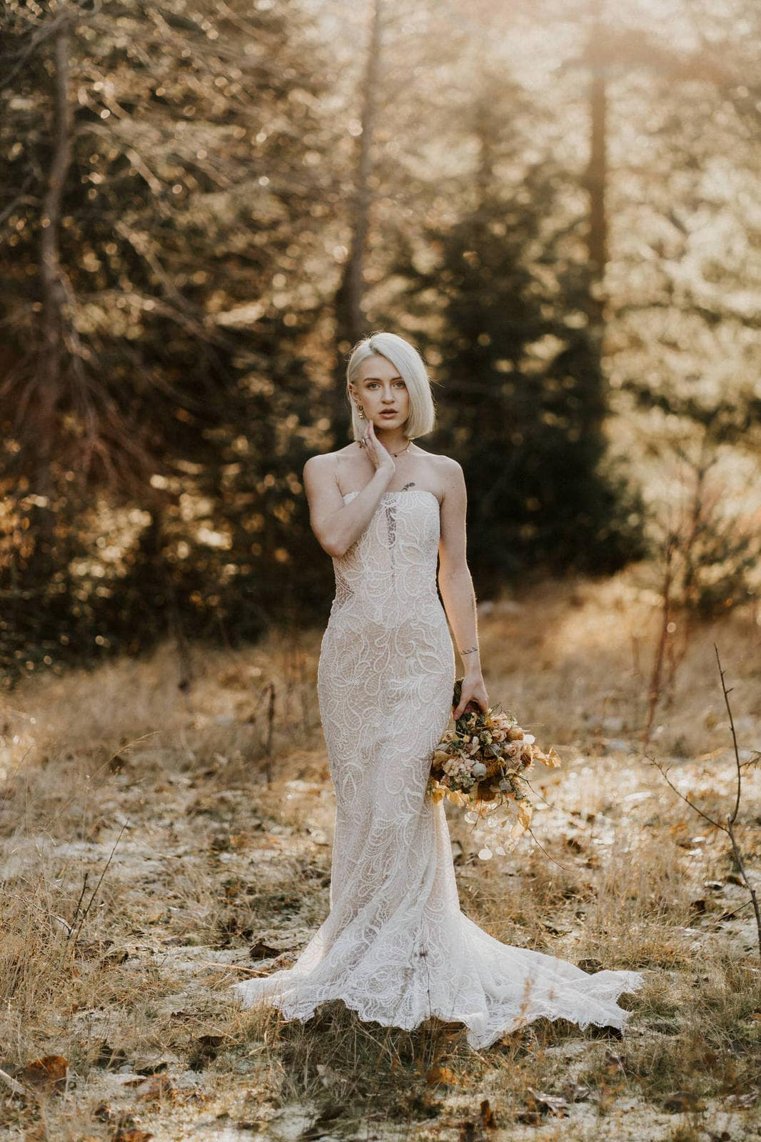Piper wedding gown from all who wander.