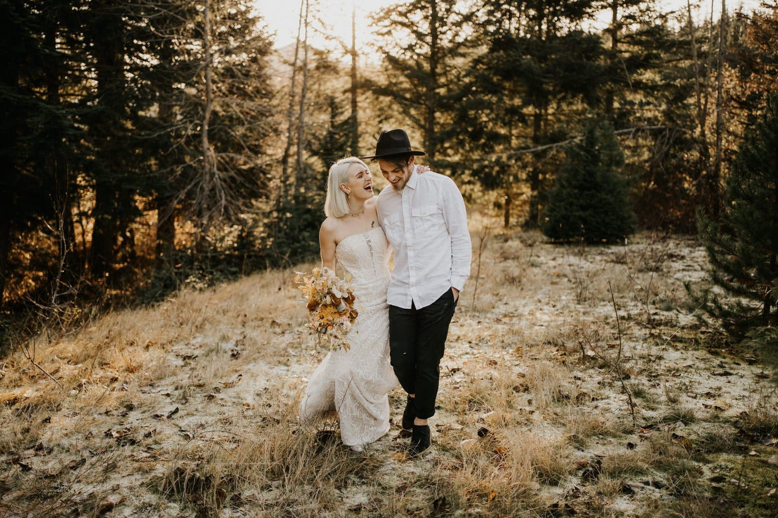 All who wander label styled elopement.