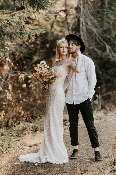 Essense of Australia wedding dress.