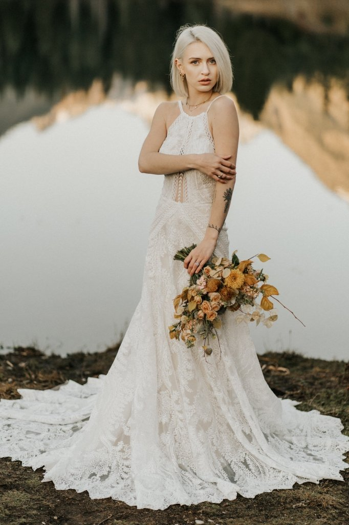 Styled India gown from All who wander.