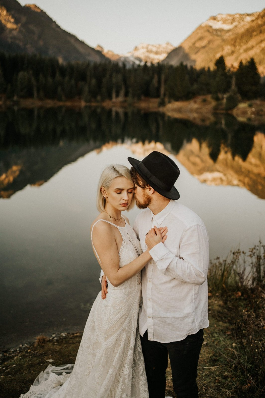 Boho elopement photography.