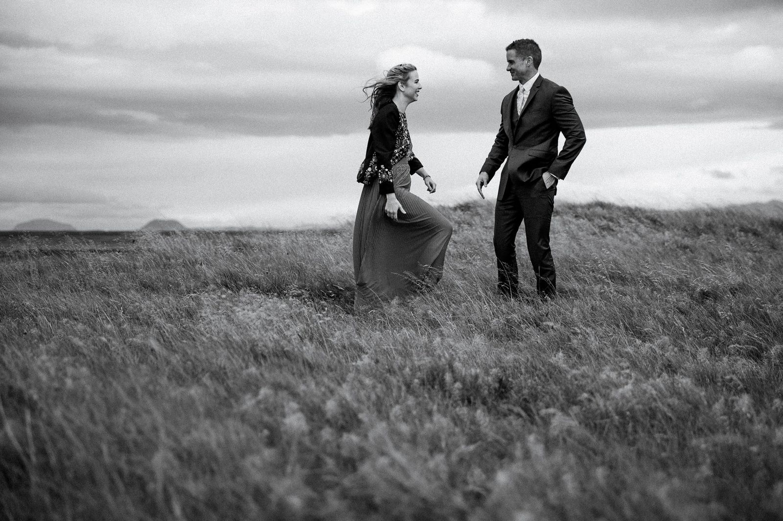Elopement photography in Iceland.
