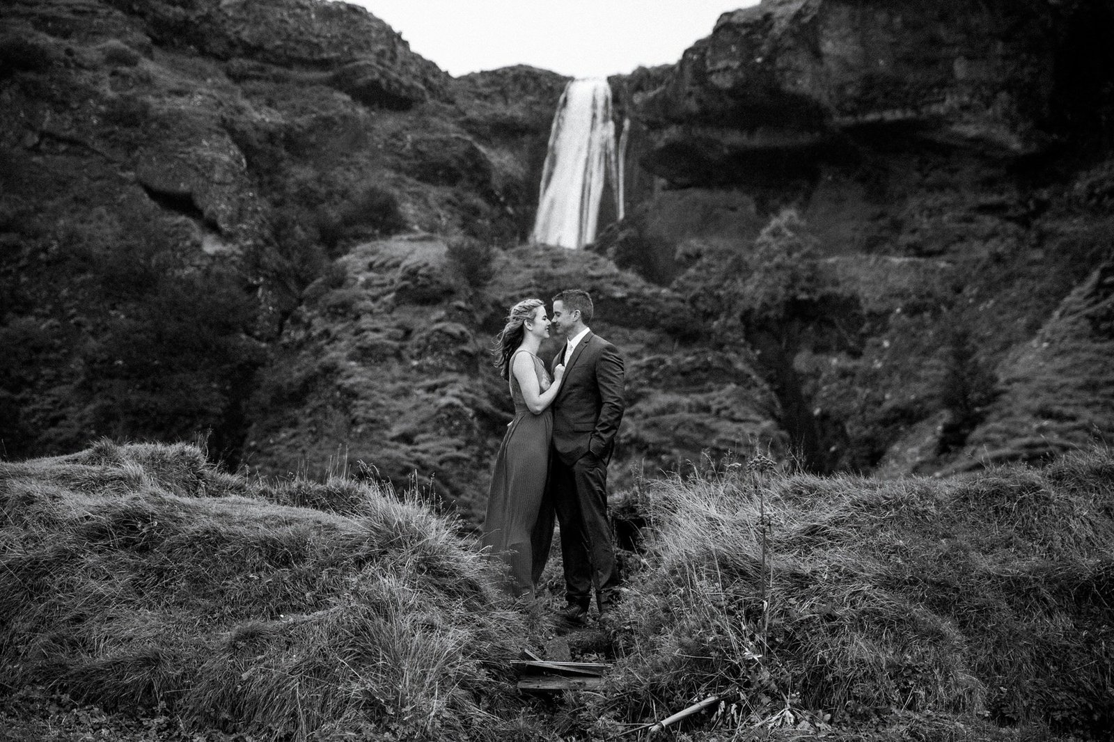 Wedding portraits in Iceland.