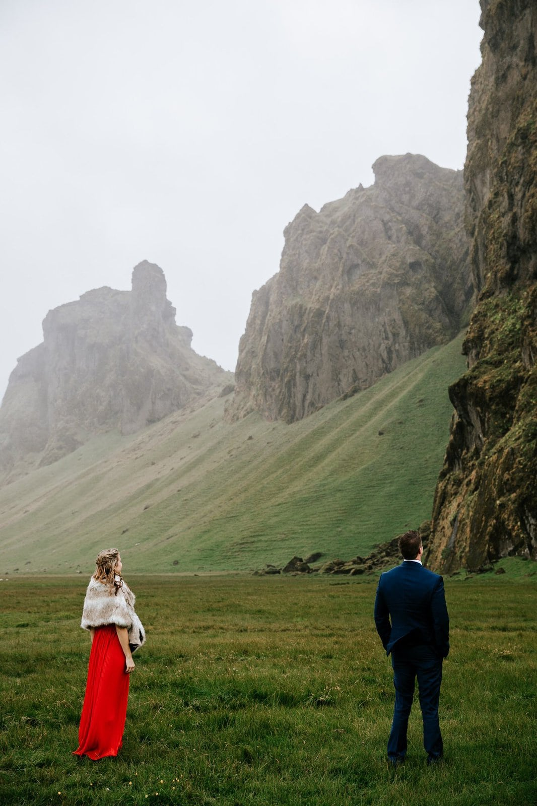 First look for elopement in Iceland.