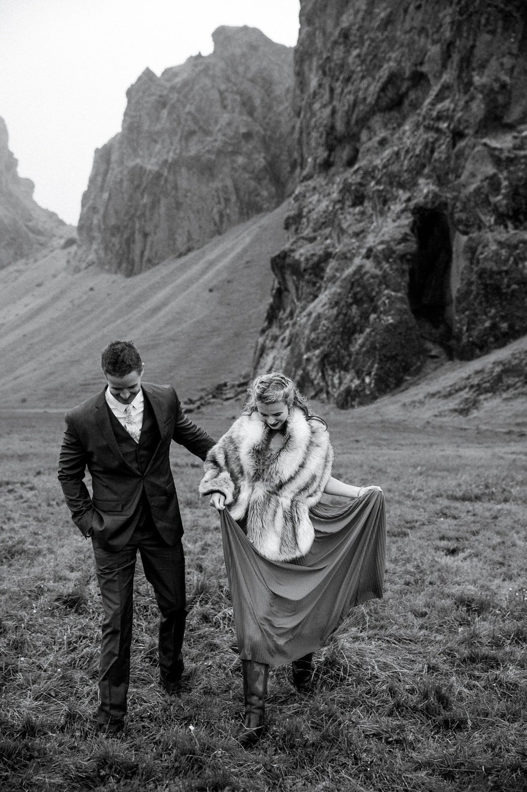 Elopements in Iceland.