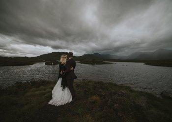Summer Hihglands elopement