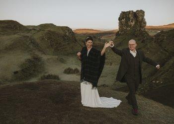 Kinga & Csepi Isle of Skye elopement