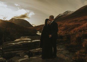 Marija & Stewart at Glen Coe
