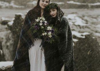 Winter Highlands elopement