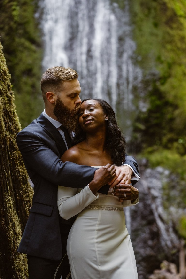 Elopement photography.