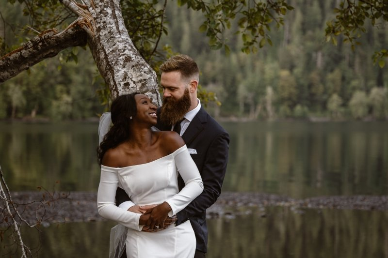 Olympic National Park Elopement photography.