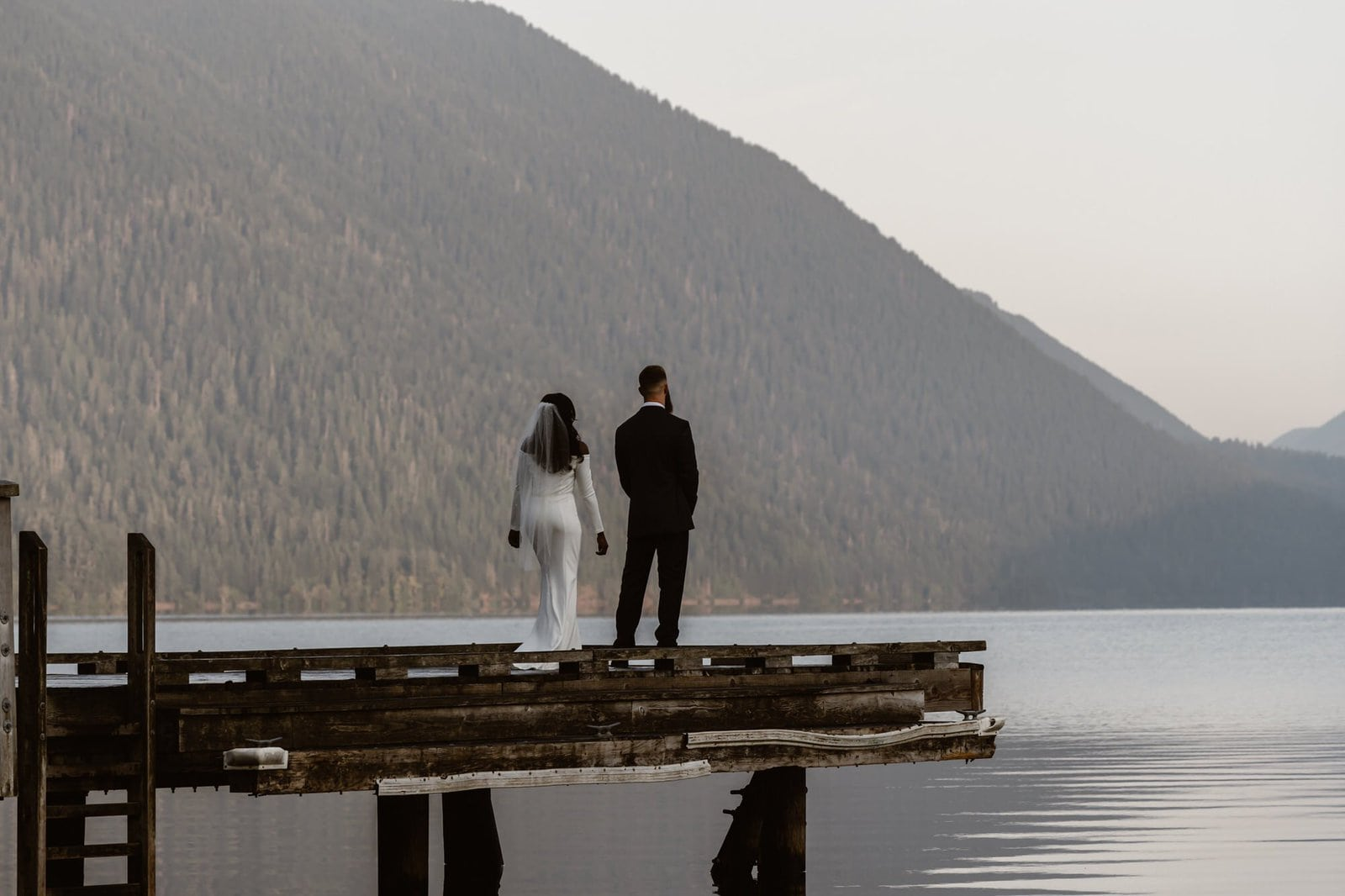 First look at Lake Crescent in Washington.