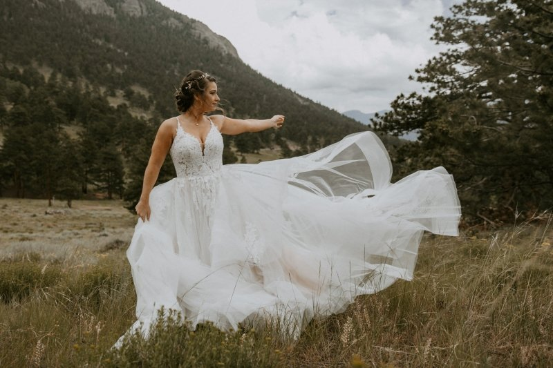 Essence of Australia bridal portrait.