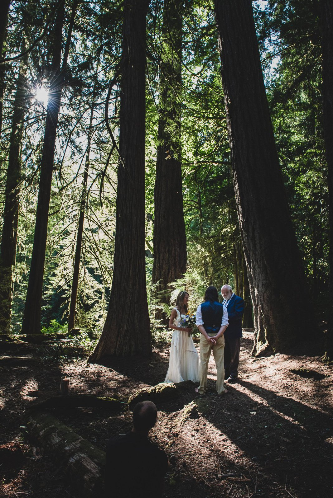 Wedding in Vancouver Island.