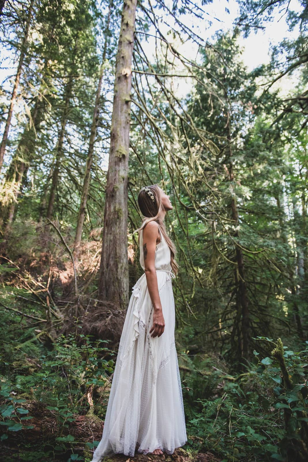 Wedding in Vancouver Island portraits.