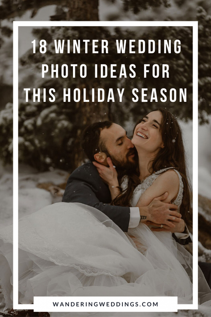18 winter wedding photo ideas