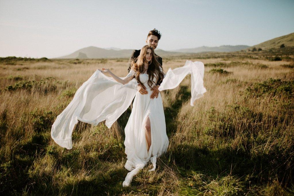 elopement wedding dress designer
