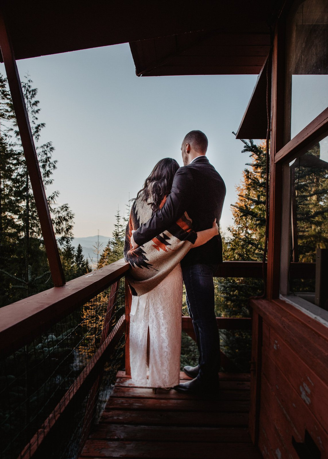 mountain elopement.