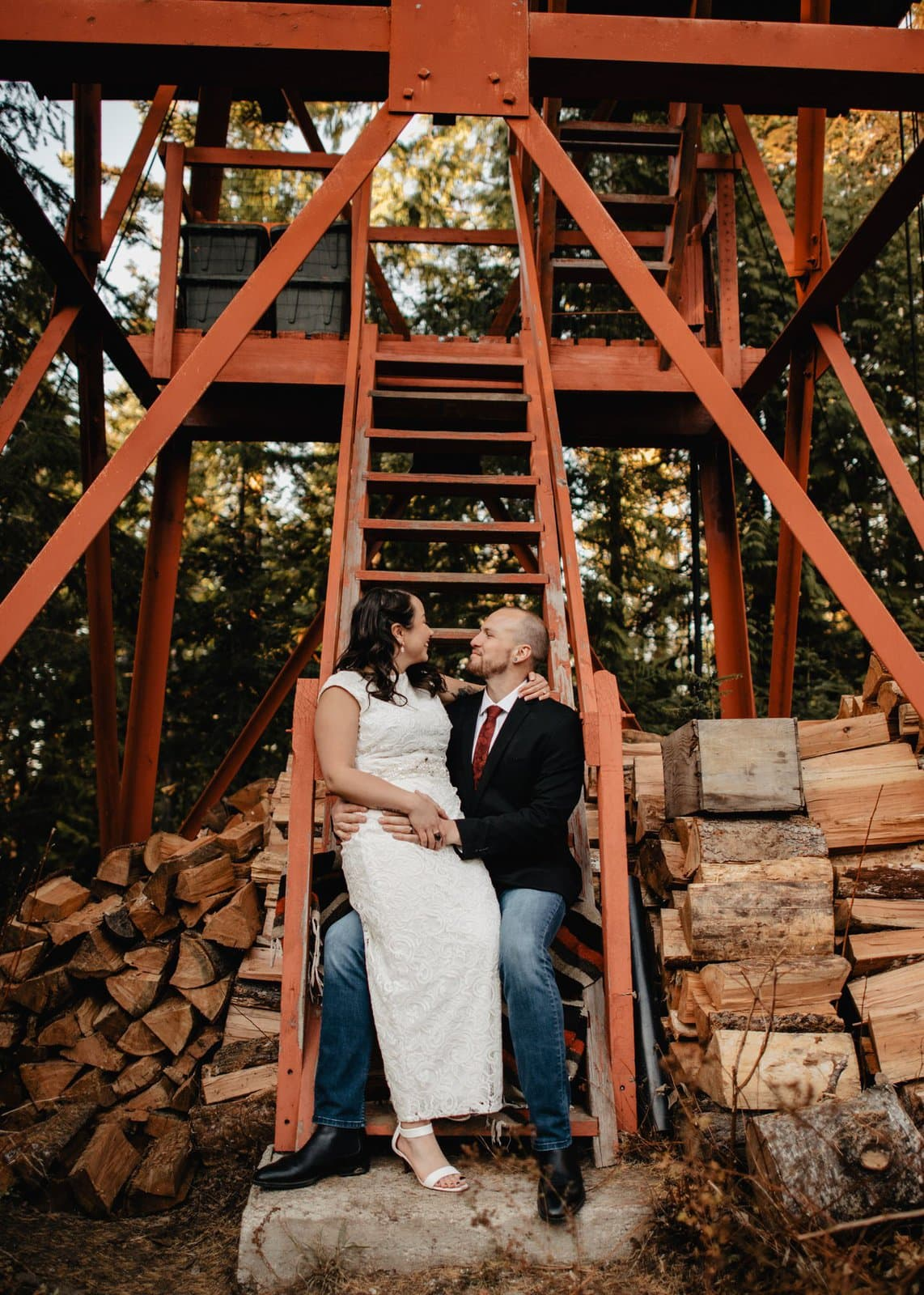 Simple idaho elopement.