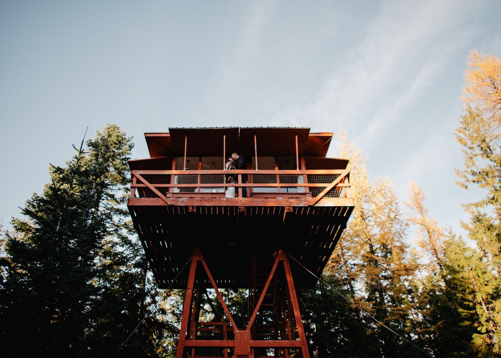 elopement lookout point in Idaho.