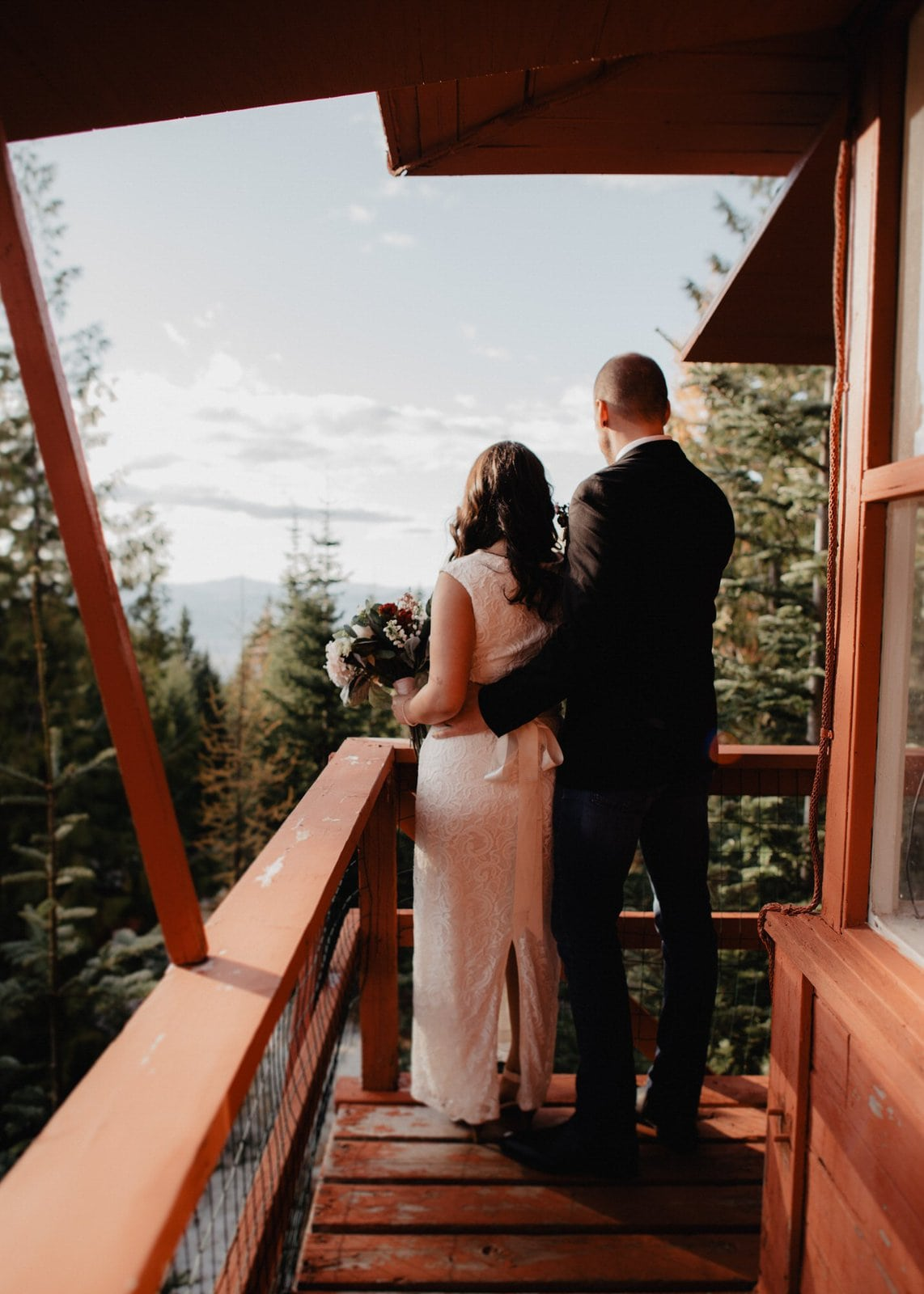 Idaho simple elopement.