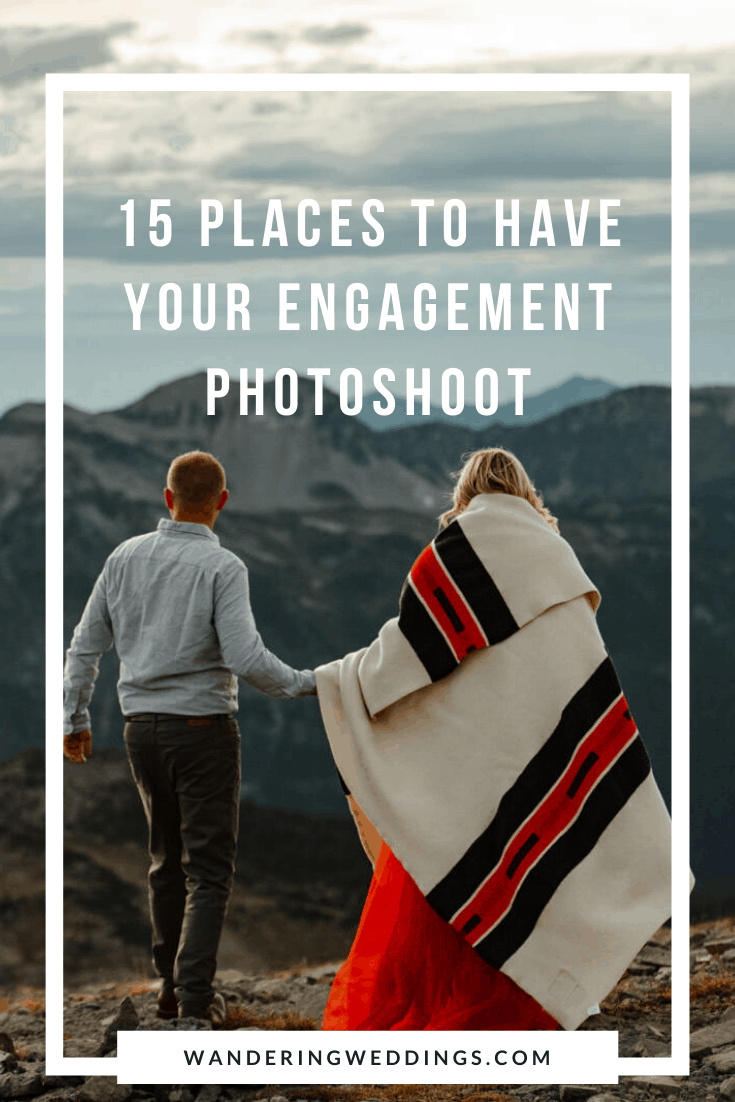 15 places to have your engagement photoshoot