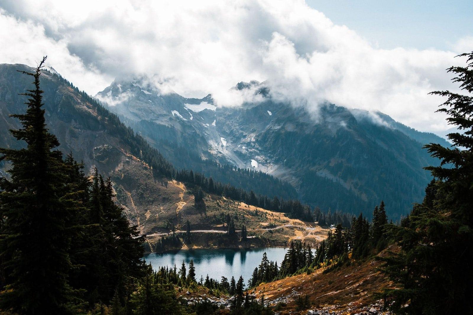 Mount Baker landscape view.