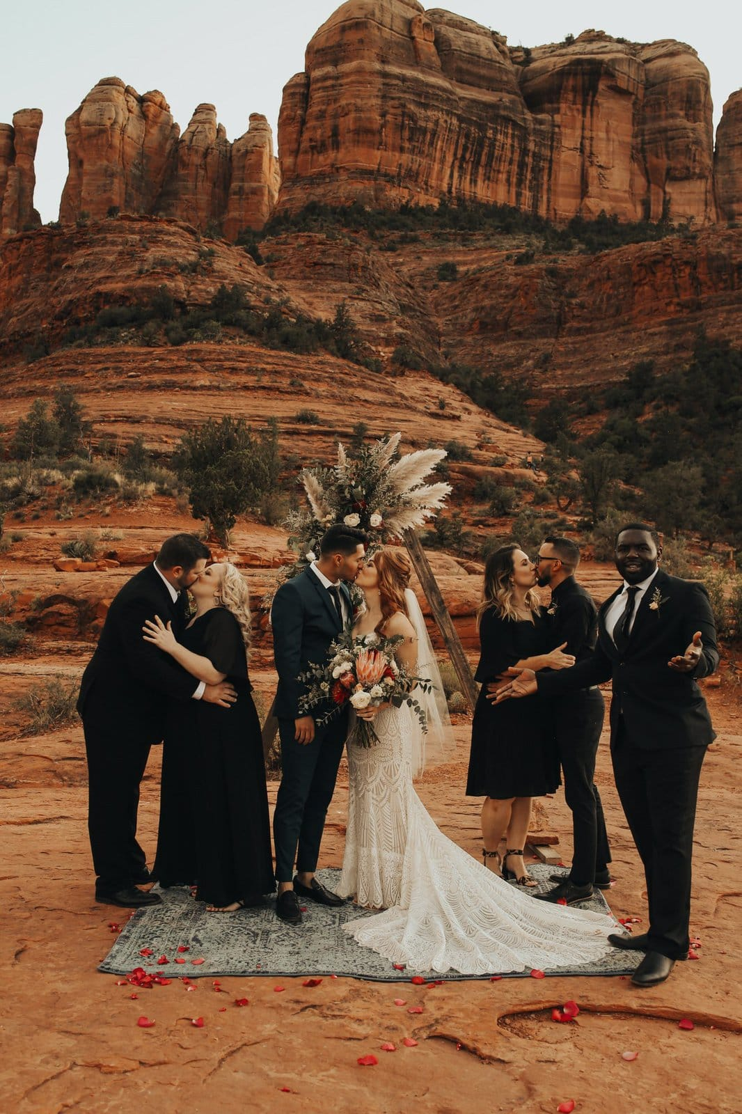 Fun bridal party photography.