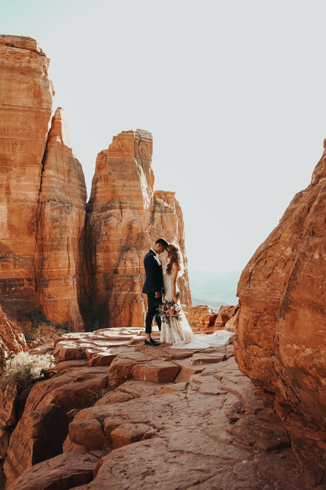 Couple photography at red rocks.