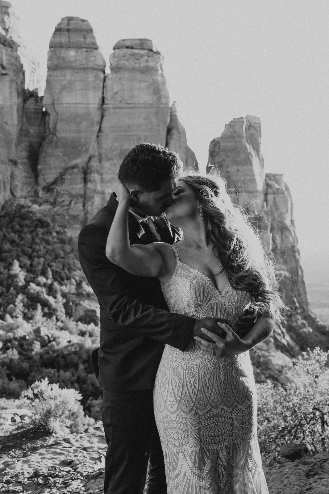 elopement at cathedral rock in Sedona.