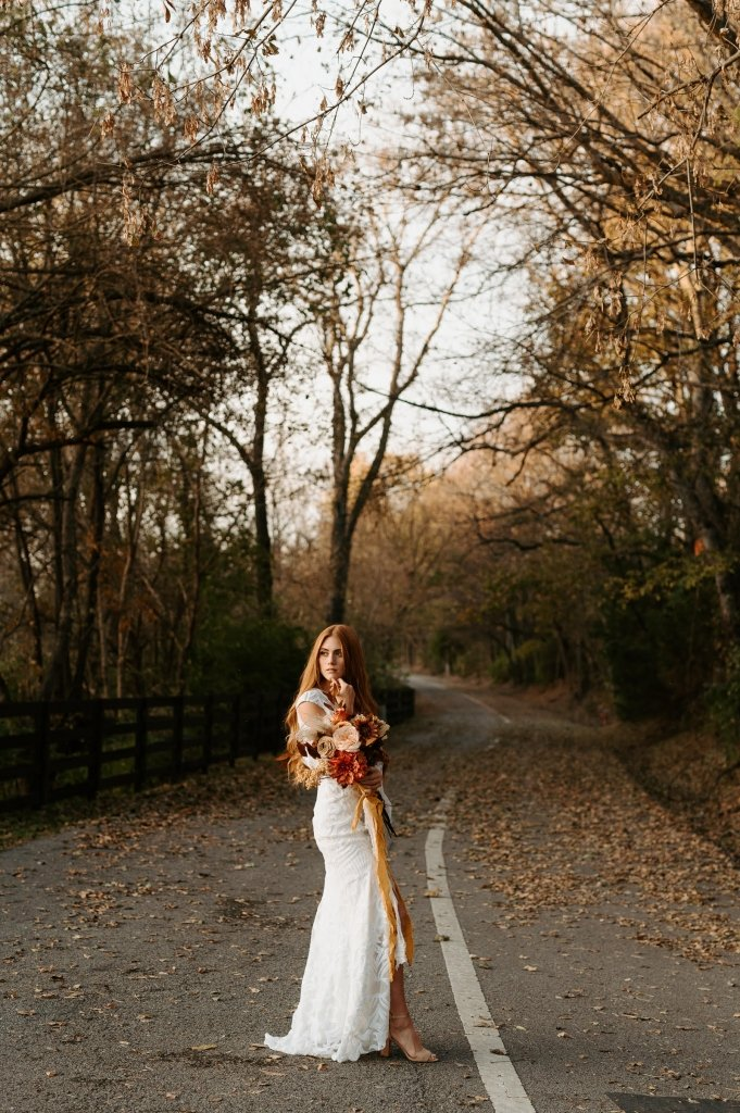 Elopement wedding dress designer for boho bride