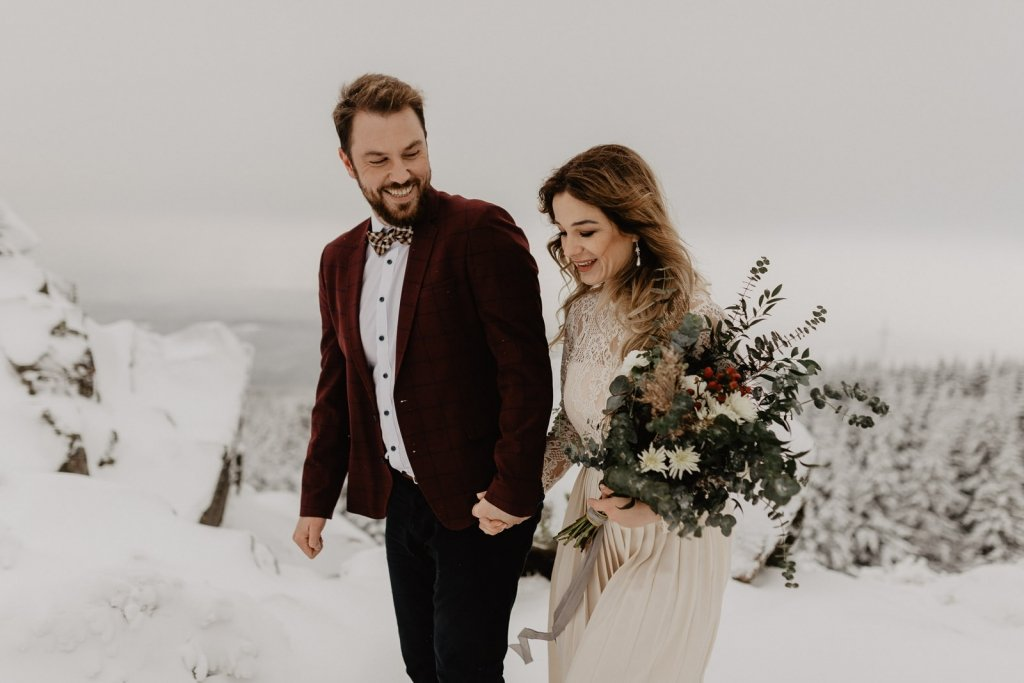 wedding photo ideas for winter.