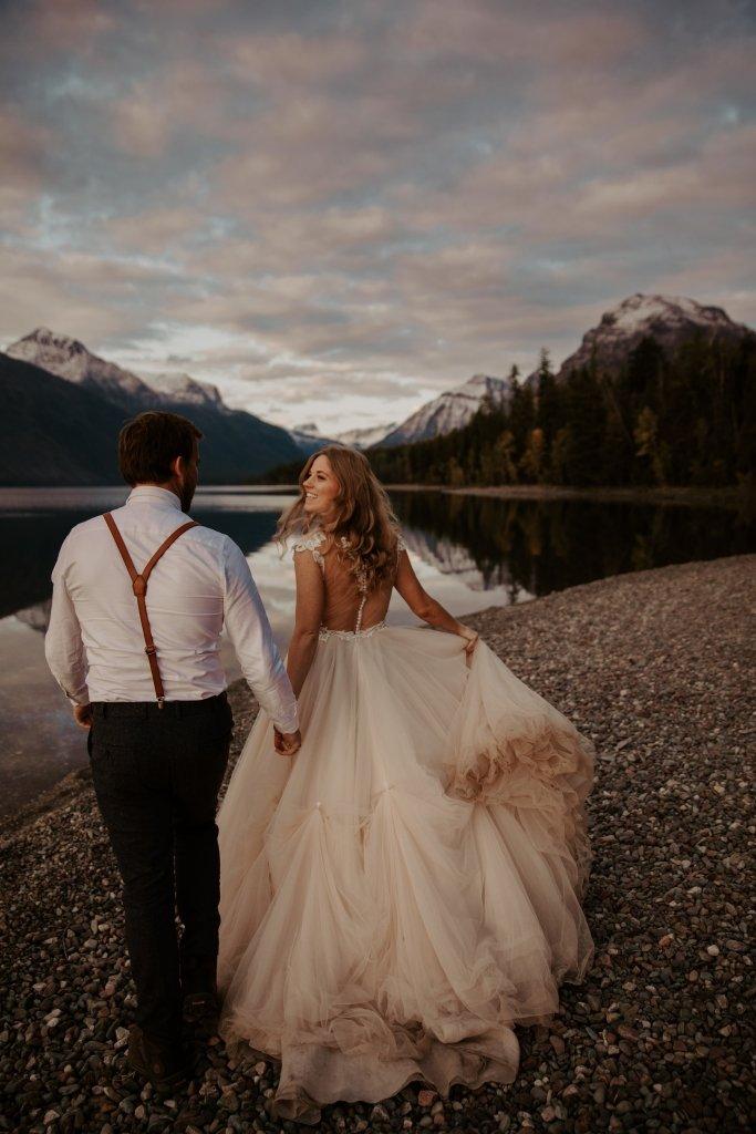 elopement wedding dress for intimate wedding