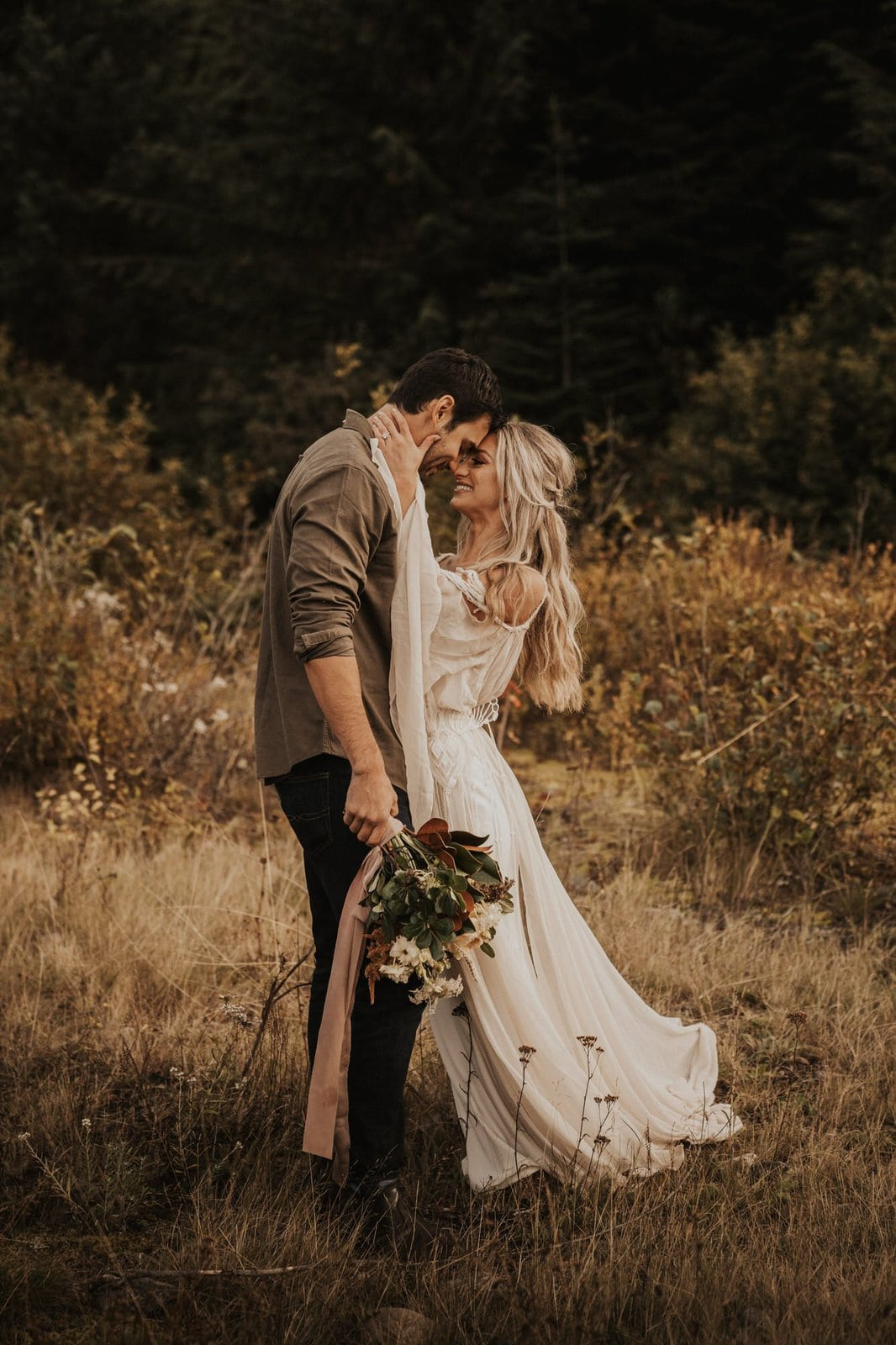 bohemian wedding photography.